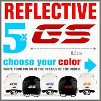 5x GS Reflective Red BMW R1200 R1150 F800 F650 F700 ADESIVI PEGATINA STICKERS