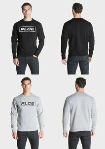 883 Police Mens Designer Parva Pullover Sweatshirt Gym Top Jumper Graphic Print