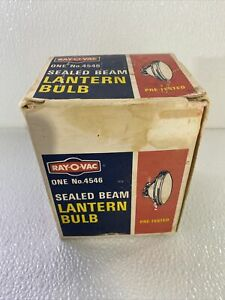 RAY-O-VAC Sealed Beam Lantern Bulb No 4546 For 6 Volt Lanterns USA