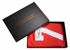 Bryan Robson Signed Shirt Autograph Name #7 Manchester United New PROOF Gift Box