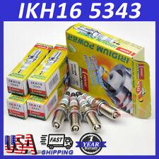 4x Denso IKH16 5343 Iridium Spark Plug For Nissan Renault Peugeot Lancia Citroen