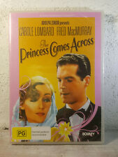 Carole Lombard, Fred MacMurray THE PRINCESS COMES ACROSS - DVD 1936 Brand New