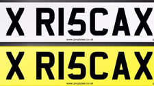 Private Personalised Cherished number registration plate Risca. Wales Newport