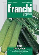 25 Semi/Seed Tris Di Zucchini