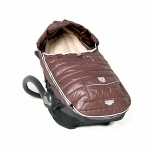 7AM Enfant Baby Shield Extendable Stroller Bunting Bag Marron Glace Size Small