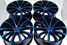 17 blue Wheels Rims Integra Civic TSX Accord Camry Fusion Mazda 3 5 6 xB 5x114.3