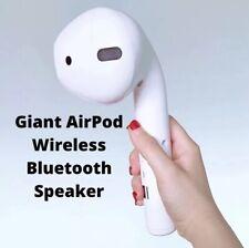 Giant AirPod Wireless Bluetooth Speaker