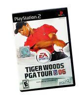 Tiger Woods Black Label PlayStation 2 PS2 PGA Tour 06 Complete MINT Disc Manual