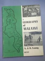 A geography of Malawi. A & D Young Paperback 1969 Vintage. Very Good Contidition