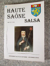 Haute Saone Salsa. Supplément au n° 48 (octobre-décembre 2002 )