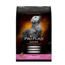 Purina Pro Plan Dry Dog Food, Savor, Shredded Blend Adult Salmon And Rice
