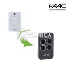 Telecomando radio trasmettitore originale FAAC XT4 433 RC 787452 787456