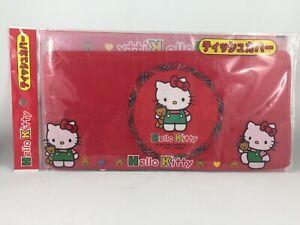 vintage Sanrio Hello Kitty cloth tissue box cover NEW Japan 1994 Teddy bear