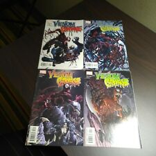 MARVEL VENOM VS CARNAGE #1-4 (2004) COMPLETE SET 1ST APPEARANCE OF TOXIN KEYS!