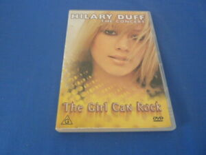 Hilary Duff The Concert The Girl Can Rock - DVD - Region All