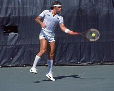 1982 Tennis Pro GUILLERMO VILAS Glossy 8x10 Photo Print Wimbledon Poster