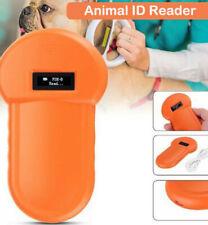 RFID 134.2Khz Pet Dog Chip Animal Microchip ID Reader Portable ISO FDX-B Scanner