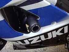 Suzuki GSXR 1000 K3 K4 2003-2004 R&G Racing Clásico Protectores De Choque Negro desagües