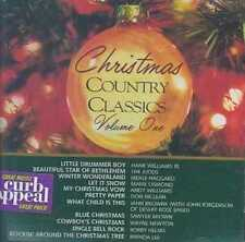 Country Import Curb Christmas Music CDs