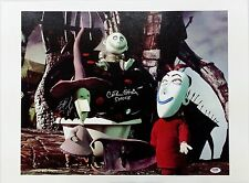 Catherine O'Hara Signed Nightmare Before Christmas 16x20 Canvas Photo PSA/DNA A