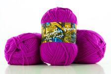 10 x 100g Graffiti Wool Pro Acryl Strickgarn 100% Polyacryl - magenta - by Anune