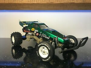 Custom Tamiya 'The Frog' Body Shell and Rear Wing by Revive RC
