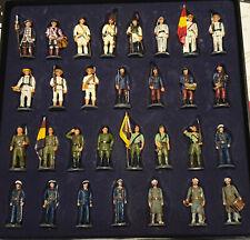 SOLDADOS DE ESPAÑA,SIGLO XVIII AL XX , COLECCION SOLDADITOS DE PLOMO, ALTAYA