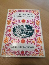 Arthur Ransome Old Peter's Russian Tales Signed Copy By Evgenia Ransome