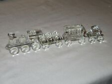 Swarovski Crystal Train Car 4 Piece Figurine Set (Z397)