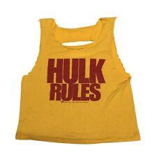 Vintage 80s WWF Hulk Rules Tank WWE Hulk Hogan