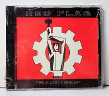 "RED FLAG ""Machines"" RARE SEALED MAXI CD w/ REMIXES 1992 I.R.S. Synth Pop DANCE"
