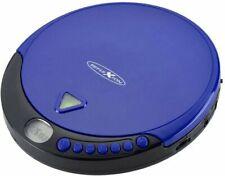 Reflexion PCD500MP Tragbarer CD-Player CD, CD-R, CD-RW, MP3 blau