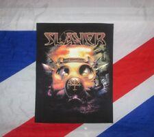 Slayer Official Back Patch Backpatch Gasmask