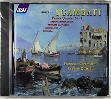 Sgambati: Piano Quintet No. 1, Caramiello, Ex Novo Quartet, Out Of Print