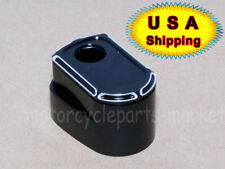 Black Edge Cut Ignition Switch Cover For Harley Touring Street Road Glide 14-up