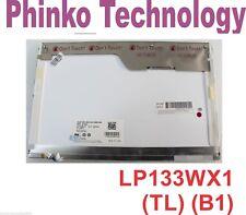 """DELL XPS M1330 LP133WX1(TL)(B1) LAPTOP LCD SCREEN 13.3"""" WXGA CCFL"""