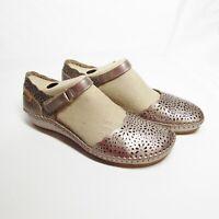 Pikolinos Leather Shoes - Vallarta Mary Jane 6.5-7  EU 37 NIB Color:  Stone