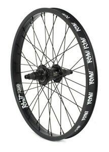 "RANT MOONWALKER REAR 20"" FREECOASTER WHEEL BMX BIKE HARO CULT SHADOW LHD BLACK"