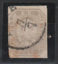 FRANCOBOLLI 1863 SARDEGNA S.1,05 FR. X GIORNALI ESTE 7/7 D/3921