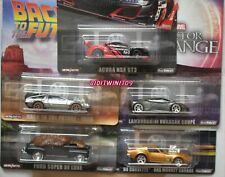 HOT WHEELS RETRO ENTERTAINMENT 2019 PREMIUM CASE M SET OF 5 ACURA LAMBORGHINI