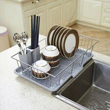 Stainless Steel Drain Dish Rack Tableware Cutlery Drain Rack Kitchen Rack