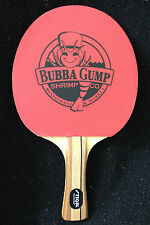 BUBBA GUMP SHRIMP COMPANY-STIGA  PING PONG PADDLE-TABLE TENNIS-NEW-FREE SHIPPING