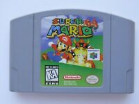 Super Mario 64 Nintendo 64 N64 Authentic OEM Video Game Cart Original Rare GOOD!
