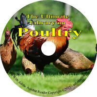172 Books on DVD, Ultimate Library on Poultry, Chickens, Farming, Raise, Fowl