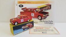 Dinky Toys Atlas - Alfa Romeo Giulia 1600 TI Rallye (Neuve)