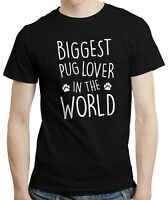 Biggest Pug Lover In The World - Dog Doggo Pet Puppy Pug T-shirt Shirt Top Tee