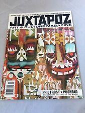 Phil frost Juxtapoz Magazine Pushead Shepard Fairey Kaws Bearbricks Barry McGee