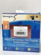 Kensington Fm Radio & Transmitter For IPod- New