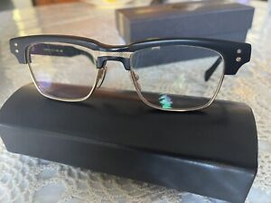 DITA GRAND RESERVE TWO Eyeglasses DRX-2061–B-BLK-GLD Black Gold.