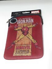 """Universal Neoprene Small Tablet/iPad Soft Case 9"""" by 6"""" THE INVINCIBLE IRON-MAN"""